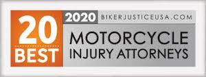 Top 20 Motorcycle Injury Attorney